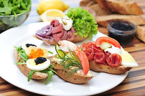 Chlebicky ceske Столетний бутерброд с красивым названием