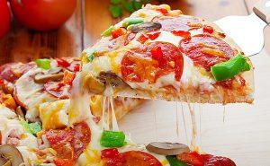 Picca Italianskaja Пицца с мороженым на фестивале итальянской кухни