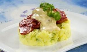 Картошка под сырной шапочкой