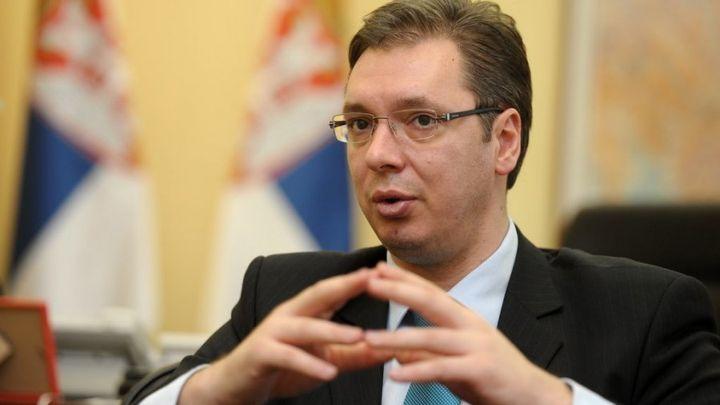 Vucic Aleksandr Prezident Serbii